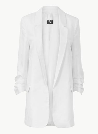 Marks & Spencer Ceket Beyaz